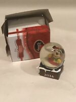 JCPENNEY'S JC Penney's 2014 Holiday Disney MINI MICKEY MOUSE SNOWGLOBE Christmas