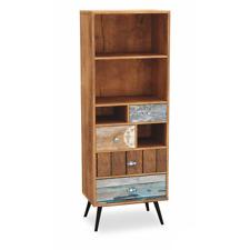 PATCHWORK - bibliothèque avec 4 tiroirs - style vintage - style rétro