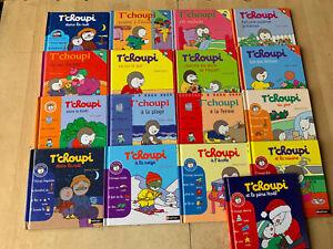 Lot 17 livres série TCHOUPI - Nathan