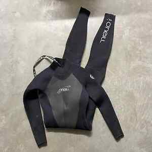 Womens O'Neill Epic 4:3 Surf Full Coverage Back Zip Wetsuit Surfing Black Sz 6