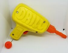 VINTAGE 1972 MATTEL TUFF STUFF DRILL PULL STRING WORKS