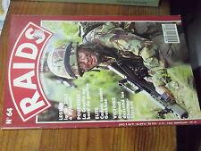 8µ? Revue Raids n°64 T-72 Altiplano Croatie 13e DBLE Defilé Daguet 14/07