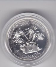 2000 Canada 25 cent Proof Stirling Silver coin Celebration