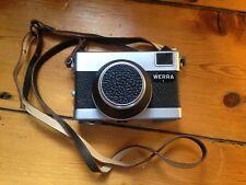 VINTAGE WERRA 1 FILM CAMERA CARL ZEISS JENA 50 MM LENS AND LEATHER STRAP