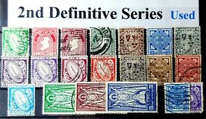 2rd Definitive Series 1940/67 Used Full Set plus extras