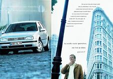 PUBLICITE ADVERTISING 126  1998    la Golf V5 (2p) Volkswagen vw