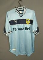 Leeds United Jersey 1999 2000 Away LARGE Shirt Soccer Football Puma ig93