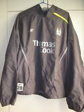CHAQUETA JACKET REEBOK MANCHESTER CITY 2005 PLAYER ISSUE TALLA M SIZE M