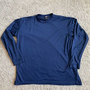 Patagonia Capilene Long Sleeve Shirt Active Wear XXl Blue F13