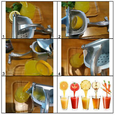 Homend Manual Juicer Hand Juice Press Squeezer Fruit Juicer Extractor Aluminum