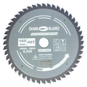 Shark Blades 160mm x 48T Plunge Track saw blade Fits Festool Ts55 Tsc55 PRO