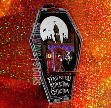 2005 DISNEY HAUNTED ATTRACTIONS PIN doom buggy haunted mansion glow RARE LIMITED