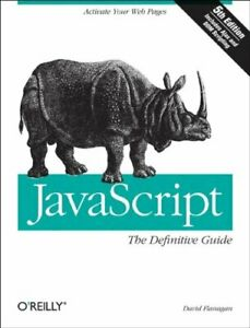 JavaScript: The Definitive Guide by David Flanagan Paperback Book The Cheap Fast