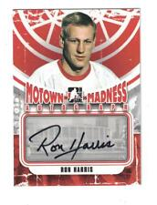 2012-13 ITG MOTOWN MADNESS Ron Harris AUTOGRAPH CARD SIGNED
