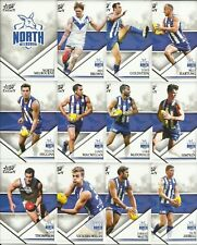 2018 select LEGACY NORTH MELBOURNE COMMON TEAM SET 12 cards SERIES 2 AFL