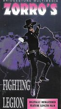 ZORRO'S FIGHTING LEGION (2-Tape VHS) 12 SWASHBUCKLING EPISODES New & Sealed!