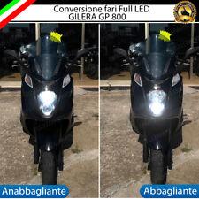 KIT FULL LED GILERA GP 800 ANABBAGLIANTE H7 +  ABBAGLIANTE H1 6400 LUMEN 6000K