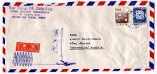 XX316 1981 CHINA TAIWAN *Makung* Airmail Cover CATHOLIC CHURCH ADMINISTRATION