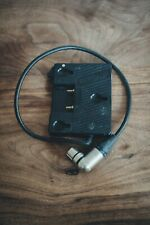 """Anton Bauer QR-UNIV Universal Gold Mount Battery Adapter - 20"""" 4-Pin XLR Cable V"""