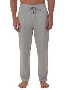 Fruit of the Loom Men's Breathable Mesh Knit Sleep Pant Sizes XL, 2XL Grey NEW