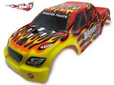 08302 HIMOTO Carrocería Monster Truck 1/8/PAINTED BODY 1/8 Monster Truck HIMOT
