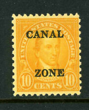 US Possessions Canal Zone Scott 104 10c Monroe 1930 Issue Variety MNG 1A9 25