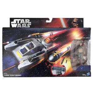 "Star Wars Rebels Y-Wing Scour Bomber & 3.75"" Kanan Jarrus Figure - Hasbro"