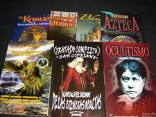 #17 JUEGO 7 BOOKS OCULTISMO Libros kybalion San Cipriano Kabalah  espiritu Magia
