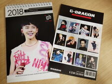 GD GDRAGON YG BIGBANG BIG BANG G-DRAGON VERY SEXY DESK CALENDAR + @
