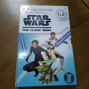 Star Wars The Clone Wars DK Readers Collection Boxset 10 Books - RRP - £48.90
