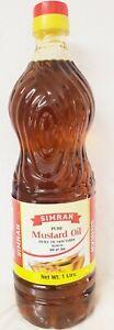 Simran Mustard Oil - 100% Senföl aus Indien 1Ltr.