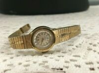 Vintage Ladies's 18K Yellow Gold Omega Watch Manual Movement Jewels 0.750 Suisse