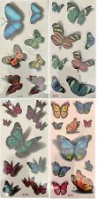 BodyArt Butterflies Waterproof Temporary Tattoos Good for metal plastic and more
