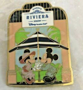 DVC Disney Vacation Club Riviera Resort Mickey & Minnie Disney Collectible Pin!