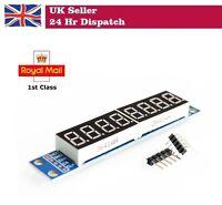 MAX7219 LED Module 8-Digit 7 Segment Digital LED Display Module for Pi Arduino