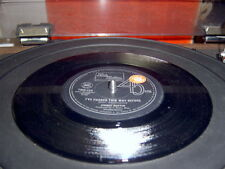 OZ 45 PROMO STICKERED JIMMY RUFFIN IVE PASSED THIS WAY BEFORE SOUL MOWTOWN