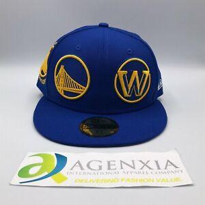 New Era 59FIFTY Golden State Warriors NBA Basketball Cap Hat Men Size 7 1/4 NWT