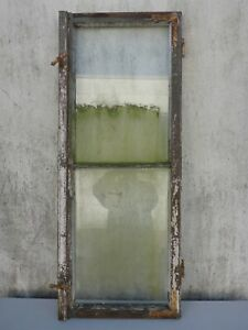 altes Fenster Holz Holzfenster verwittert shabby chic ca. 52,3 cm x ca. 131,5 cm