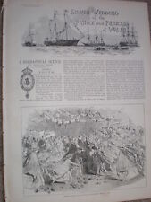 Silver Wedding of the Prince and Princess of Wales 1888 old prints and articles