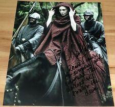 Carice van Houten Signed 11x14 Game of Thrones Melisandre w/Quote Exact Proof