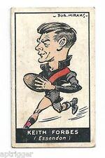 1933 Carreras (Standard Cigarettes) (40) Keith FORBES Essendon