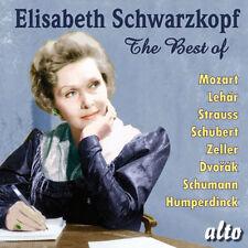 CD BEST OF ELIZABETH SCHWARZKOPF MOZART LEHAR ZELLER DVORAK HUMPERDINCK SCHUBERT