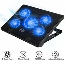 """MoKo Laptop Cooler,12-17"""" Laptop Cooling Pad Silent Gaming Laptop Radiator Stand"""