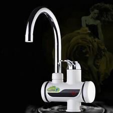 3000W 220V Elektrisch Wasserhahn Digital LED Display Schnelle Heizung DE
