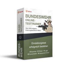 ► Bundeswehr Einstellungstest / Eignungstest   erfolgreich bestehen!