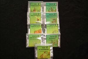 Fleischfressende Pflanzen großes Samenpaket, verschiedene Gattungen! 550 Samen!
