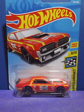 2018 Hot Wheels '68 MERCURY COUGAR CHAMPION Race Car. HW Speed Graphics 8/10.