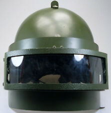Russian Helmet K6-3 Replica Bulletproof OD Green 2mm Steel Visor + Free cover