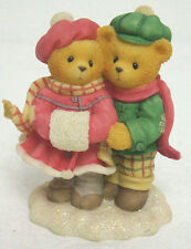 Cherished Teddies 533874 CARLIN & JANAY Count Blessings MINT