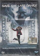 Dvd **SAVE THE LAST DANCE** con Julia Stiles Sean Patrick Thomas nuovo 2001